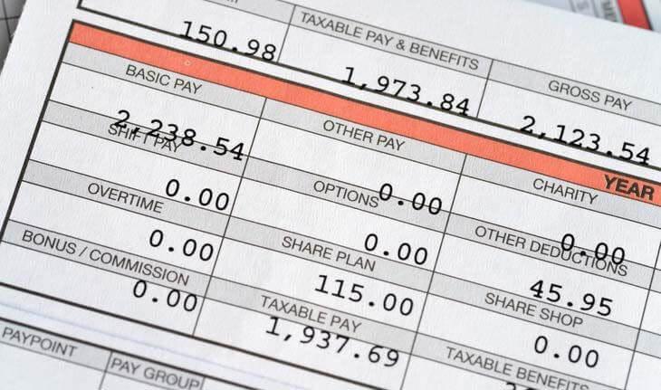 Cách tính lương cơ bản về các ngày công