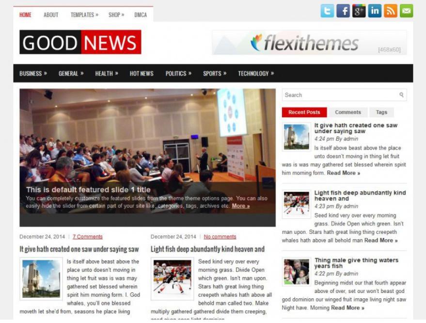 giao diện blog Google News