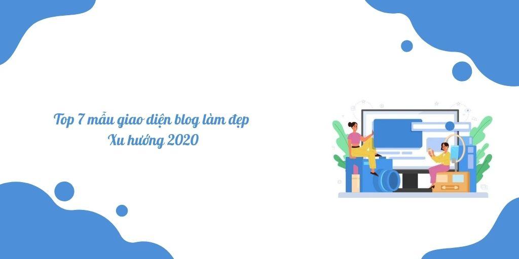 top 7 mẫu giao diện blog làm đẹp