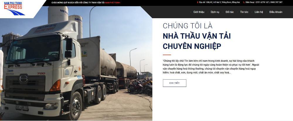 Đơn vị dịch vụ vận tải Bắc Nam Nam Phú ThịnhExpress