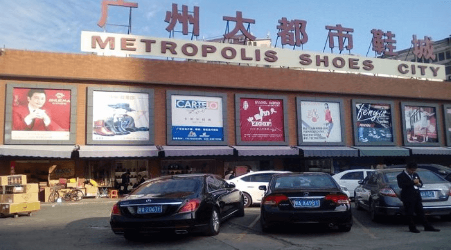 chợ đầu mối Quảng Châu Metropolis Shoes City