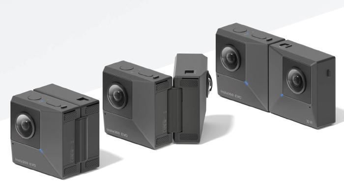 Insta360 EVO - Máy quay phịm 360 độ có thiết kế độc đáo
