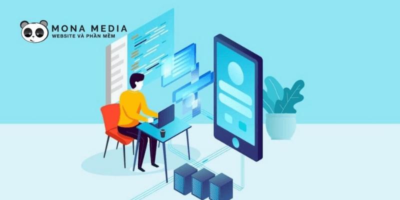 công ty thiết kế app mobile mona media