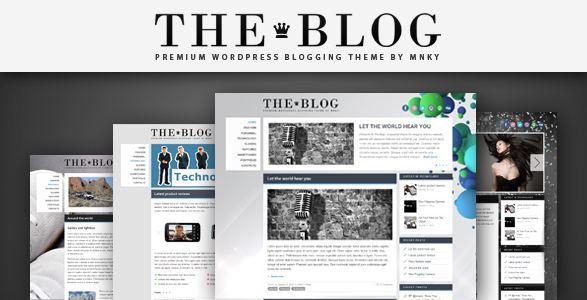 Mẫu giao diện blog cá nhân
