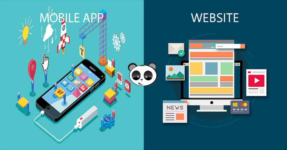 Sự khác biệt giữa lập trình website và lập trình app