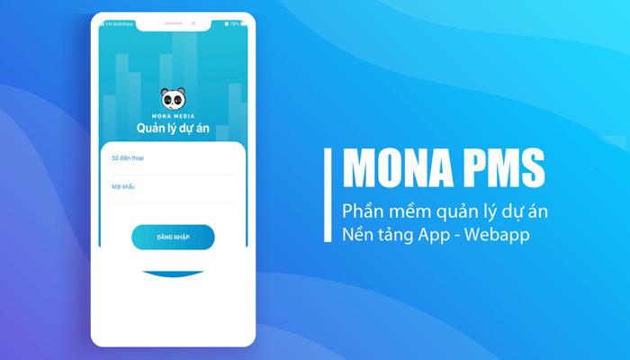 Ứng dụng quản lý công việc - dự án của Mona Media