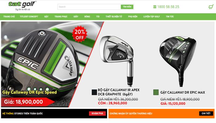 Đơn vị chuyên cung cấp quần áo golf - TAT Golf